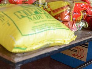 Voedselpakketten staan klaar voor 87 gezinnen