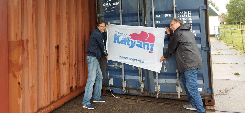 stichting Kalyani 40Ft zeecontainer