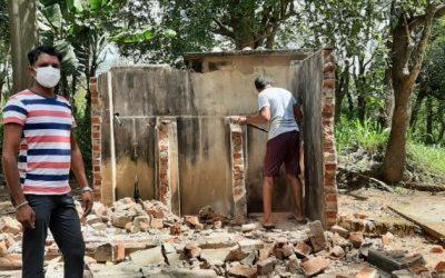 Bouw nieuwe toiletvoorzieningen