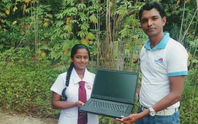 Succesverhalen na donatie laptop(s)