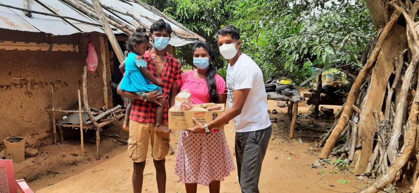 Stichting Kalyani voedselpakket donatie
