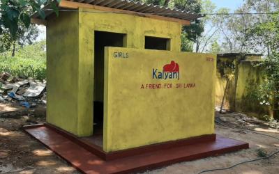 Bouw nieuwe toilet voorzieningen Diyakapilla primary